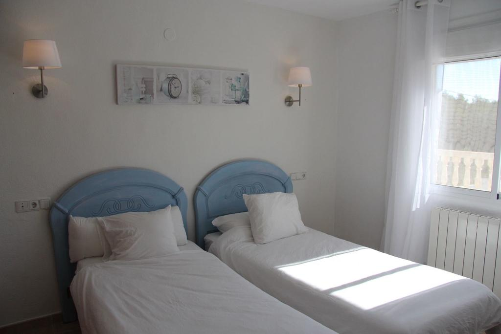 Two Single Duvets Double Bedroom