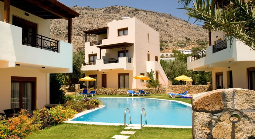 Blue Dream Luxury Villas in pefkos