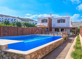 Lindos Gem Luxury Villas Front View