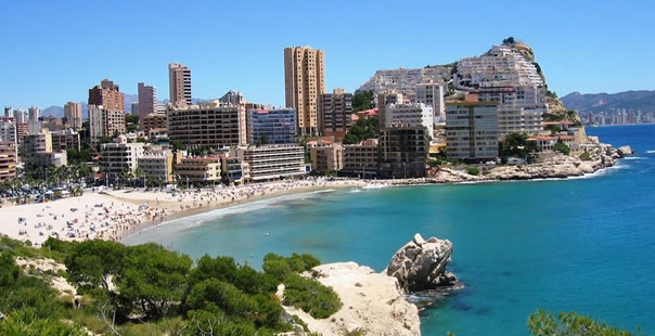 The Costa Blanca Beach