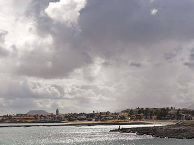 corralejo city view