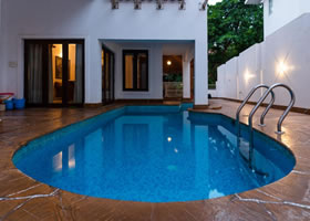 Luxury 4BHK Private Pool Villa Front View