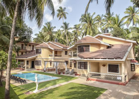 Villa Calangute Phase 3 Front View